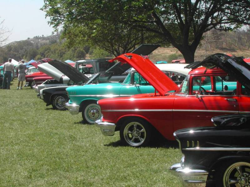 Events At Bates Nut Farm - Fruit yard car show