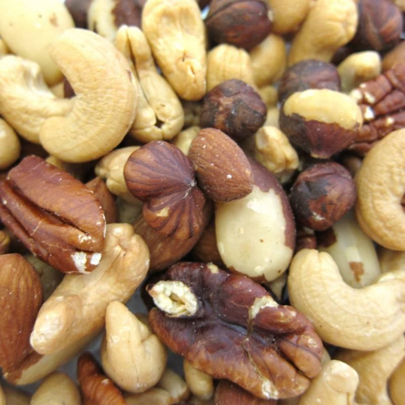 Mixed Nuts, Roasted, No Salt 12 oz