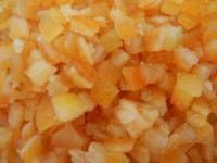 Orange Peel, Glazed, Diced 16 oz.