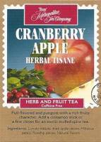 Cranberry Apple Herbal Tisane