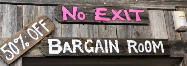 Bargain Room!