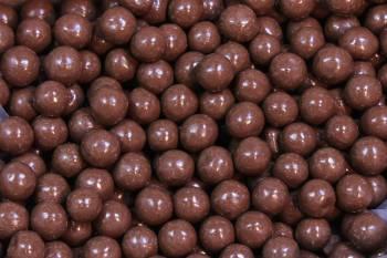 Malted Milk Balls, Dark Chocolate 8 oz.