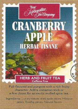 Cranberry Apple Herbal Tisane
