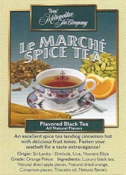 Le Marche Spice Tea