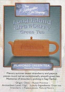 Long Island Strawberry Green Tea