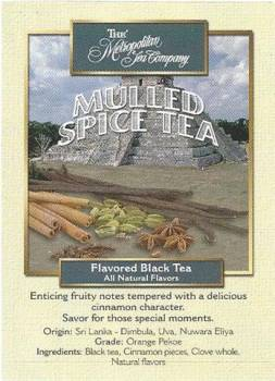 Mulled Spice Tea