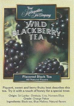 Wild Blackberry Tea