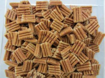 Snack Bits, Pecan flavored, 10 oz.