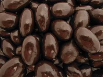 Chocolate Almonds, Dark 8 oz.