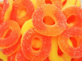 Gummallo Peach Rings 12 oz.