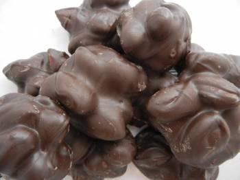 Chocolate Almond Clusters, Dark  8 oz.
