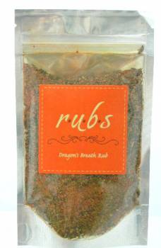Seasoning, Dragon's Breath Rub 3 oz.