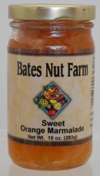 Jams & Jellies:  Sweet Orange Marmalade 10 oz.
