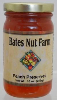 Jams & Jellies:  Peach Preserves 10 oz.