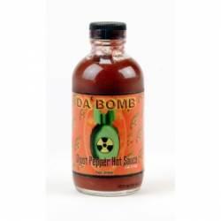 Hot Sauce, Da Bomb Ghost Pepper, 4 oz.