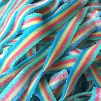 Candy & Chocolate - Rainbow Sour Belts 3 oz.