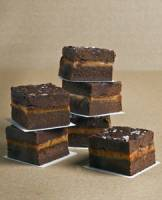 Fudge, Dark Chocolate Caramel Sea Salt
