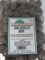 Candy & Chocolate - Dark Chocolate Drops 16 oz.